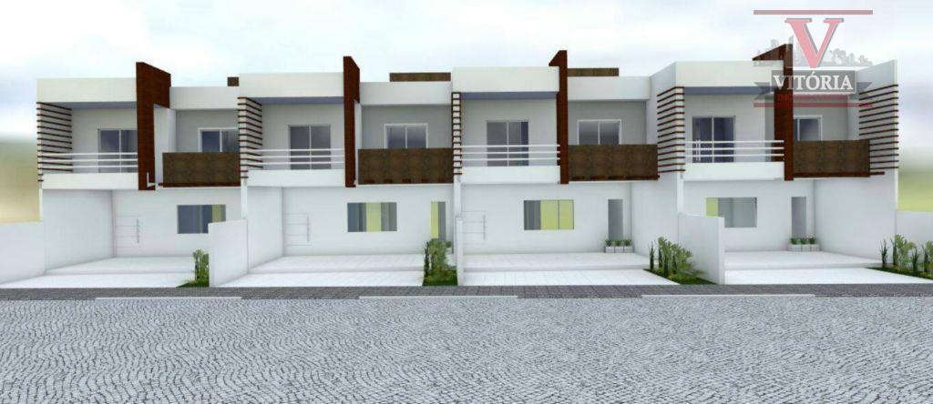 3Dorm. Sobrado residencial à venda, Pedro Moro, São José dos Pinhais - SO0176.