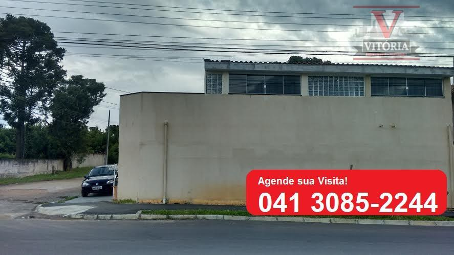 Casa residencial à venda, Iná, São José dos Pinhais - CA0140.