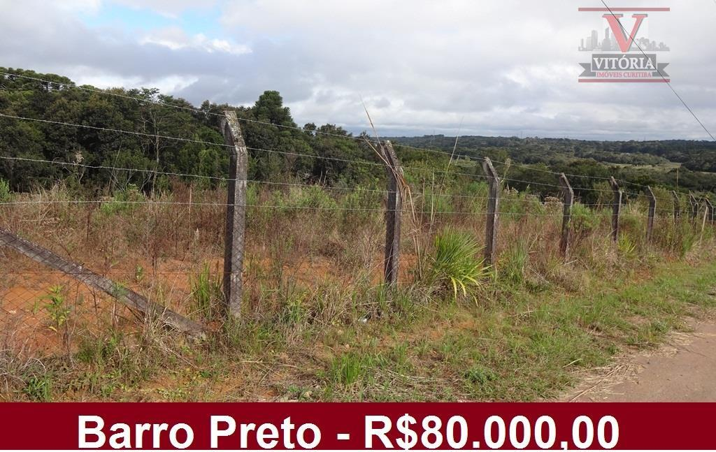 Terreno  residencial 12m x 30m à venda, Barro Preto, São José dos Pinhais.
