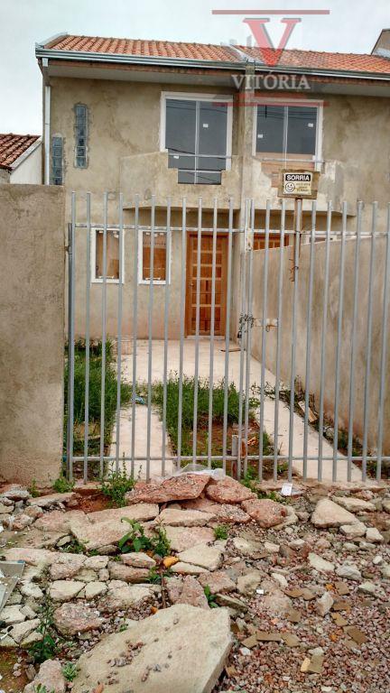 2Dorm. Sobrado à venda, Ganchinho, Curitiba - SO0190.