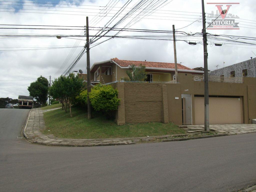 Casa residencial à venda, Centro, São José dos Pinhais - CA0157.