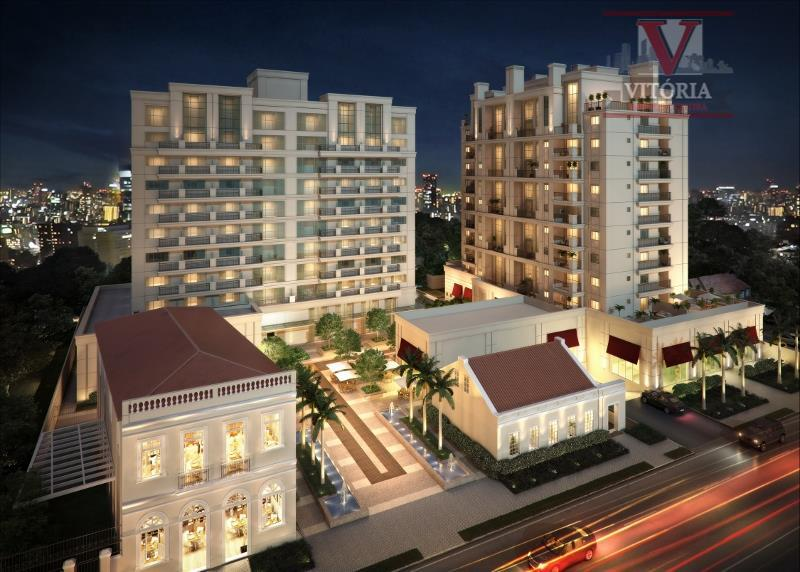 Apartamento  residencial de alto padrão à venda, Batel, Curitiba.