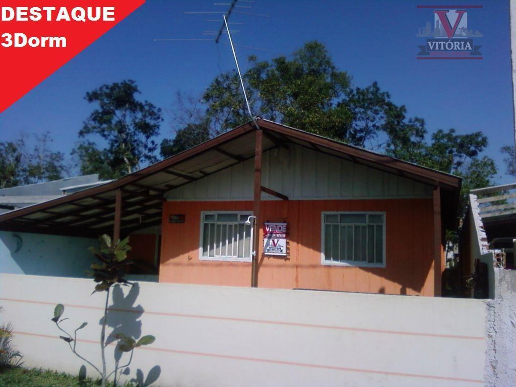 Casa com terreno à venda, Caiobá, Matinhos - CA0158.