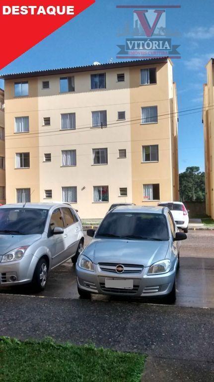 Apartamento residencial à venda, Braga, São José dos Pinhais - AP0571.