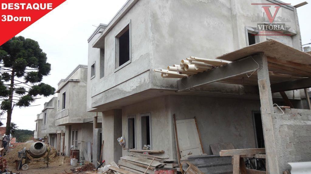 Sobrado  residencial 3Dorm. à venda, Boqueirão, Curitiba - Ac. Ap. como parte de pagamento