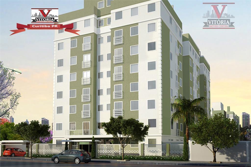 Apartamento entrada facilitada à venda, Capão Raso, Curitiba.