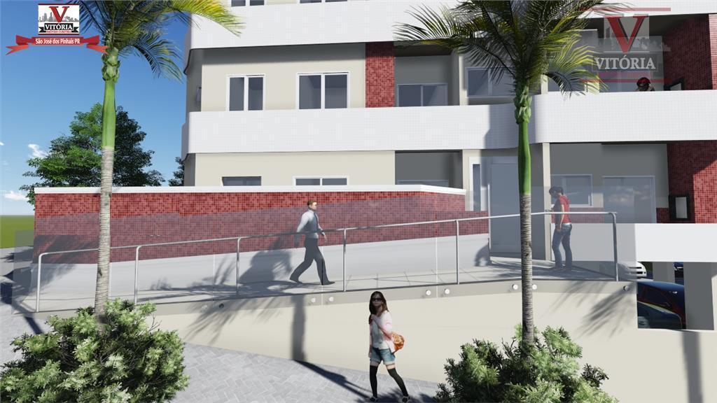 Apartamento residencial à venda, São Domingos, São José dos Pinhais - AP0671.