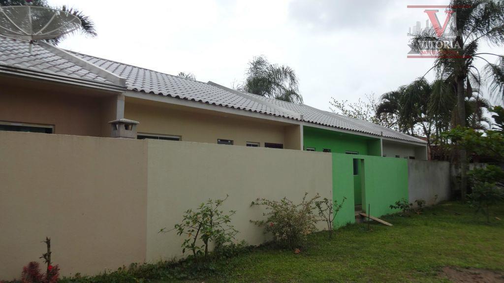 Casa residencial à venda, Balneário Riviera, Matinhos - CA0190.