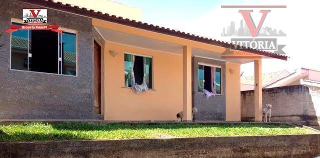 Casa 4Dorm. à venda, Boneca do Iguaçu, São José dos Pinhais - CA0191.