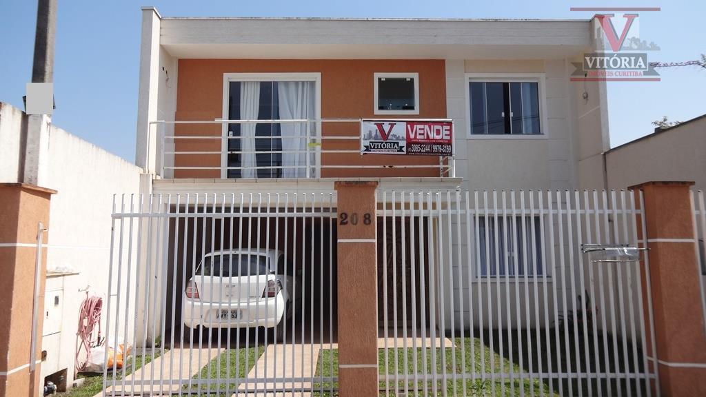 Sobrado 220m² à venda, Afonso Pena, São José dos Pinhais - SO0225.
