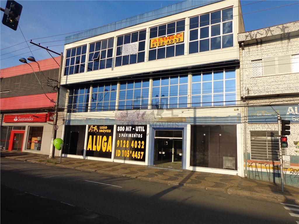 Prédio comercial para locação, Vila Industrial, Campinas.