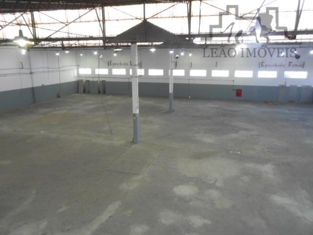 Barracão comercial para locação, São Bernardo, Campinas.