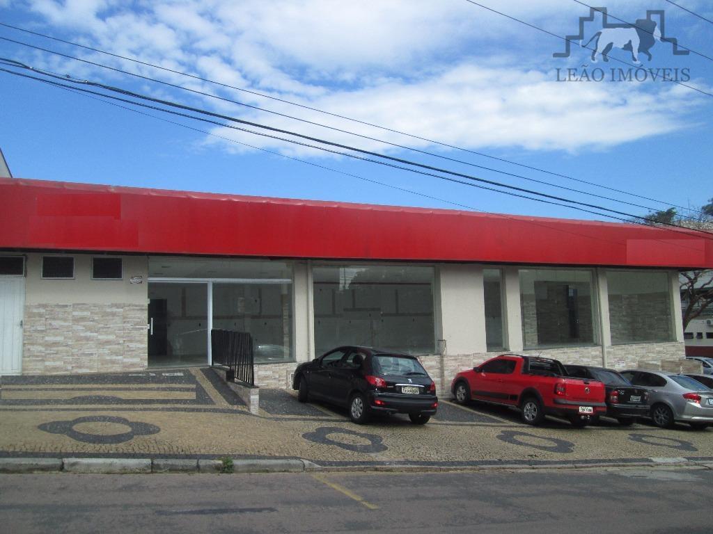 Salão comercial para locação, Centro, Valinhos.