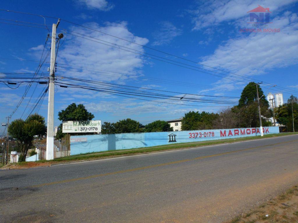 área com barracão na cic próxima a viaduto da  br 277
