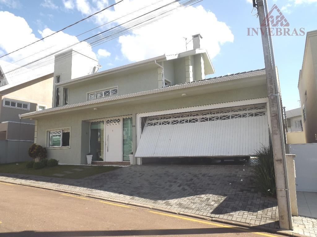 Casa residencial à venda, Santa Quitéria, Curitiba.