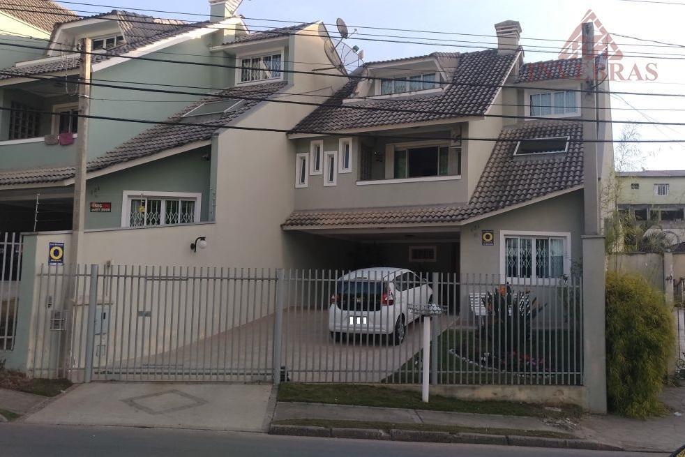 Sobrado residencial à venda, Bacacheri, Curitiba.