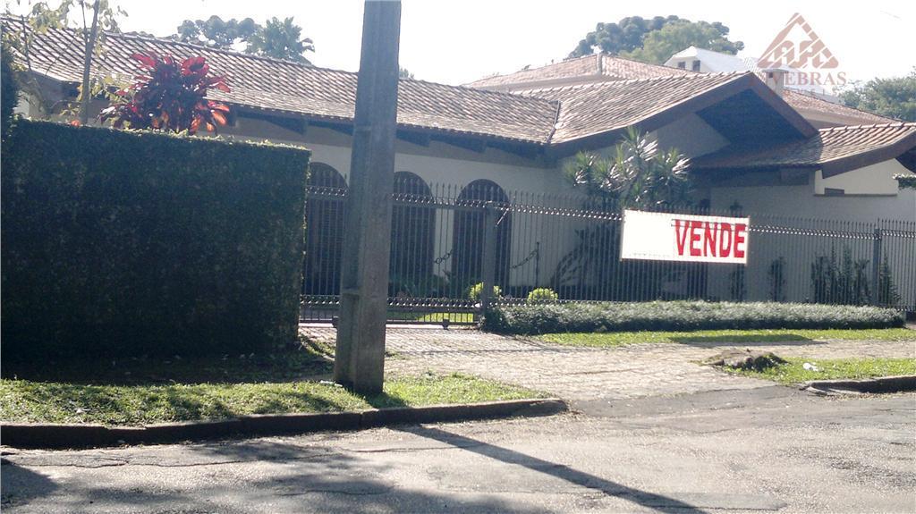 Casa residencial à venda, Seminário, Curitiba.