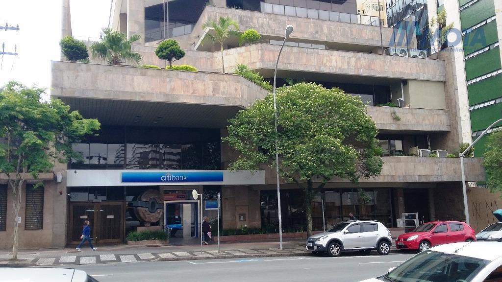 Andar Corporativo para locação, Centro, Curitiba.
