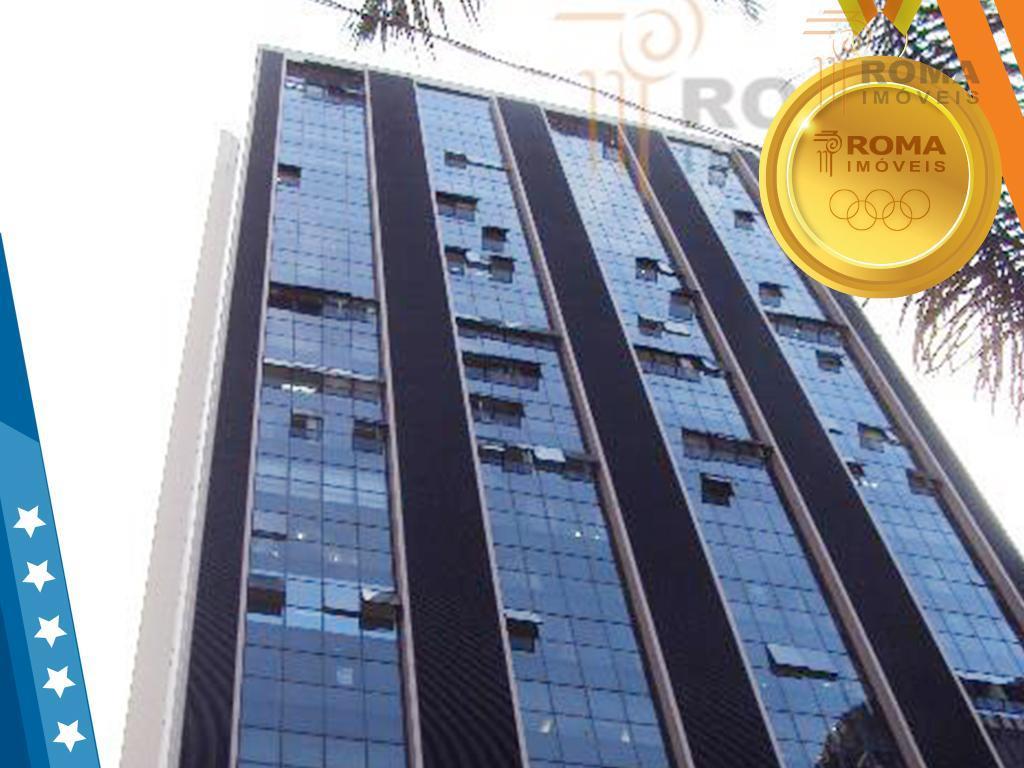Conjunto comercial para venda e locação, Centro, Curitiba - CJ0016.