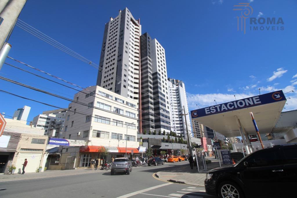 Apartamento MOBILIADO para locação, Centro/Batel, Curitiba - AP0005.