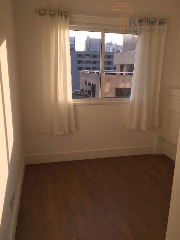 excelente apartamento mobiliado, em localização privilegiada no bairro rebouças, em frente à praça ouvidor pardinho, próximo...