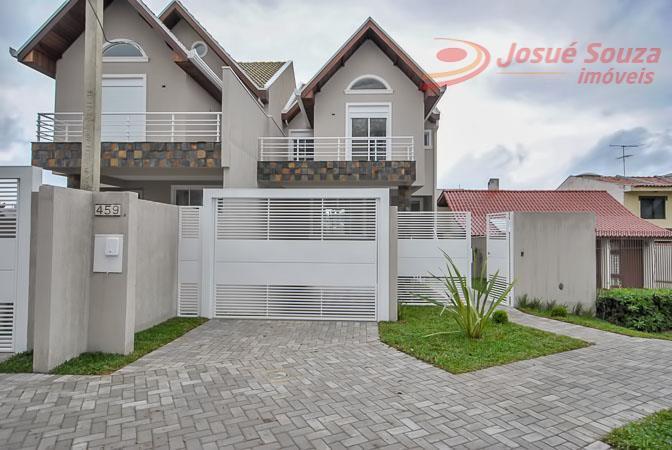 Sobrado residencial à venda, Ahú, Curitiba - SO0416.