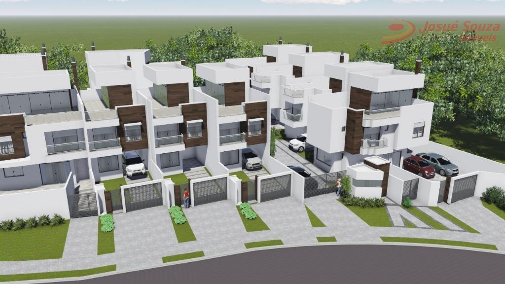 Sobrado residencial à venda, Bom Retiro, Curitiba - SO0437.