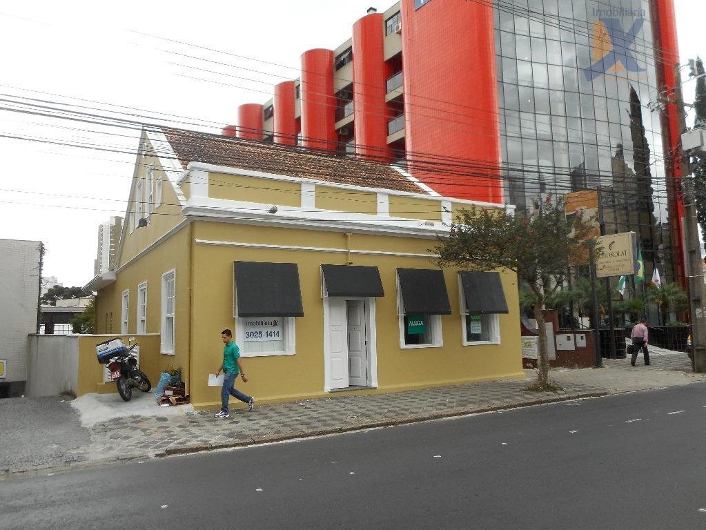 Casa comercial para locação, Batel, Curitiba.