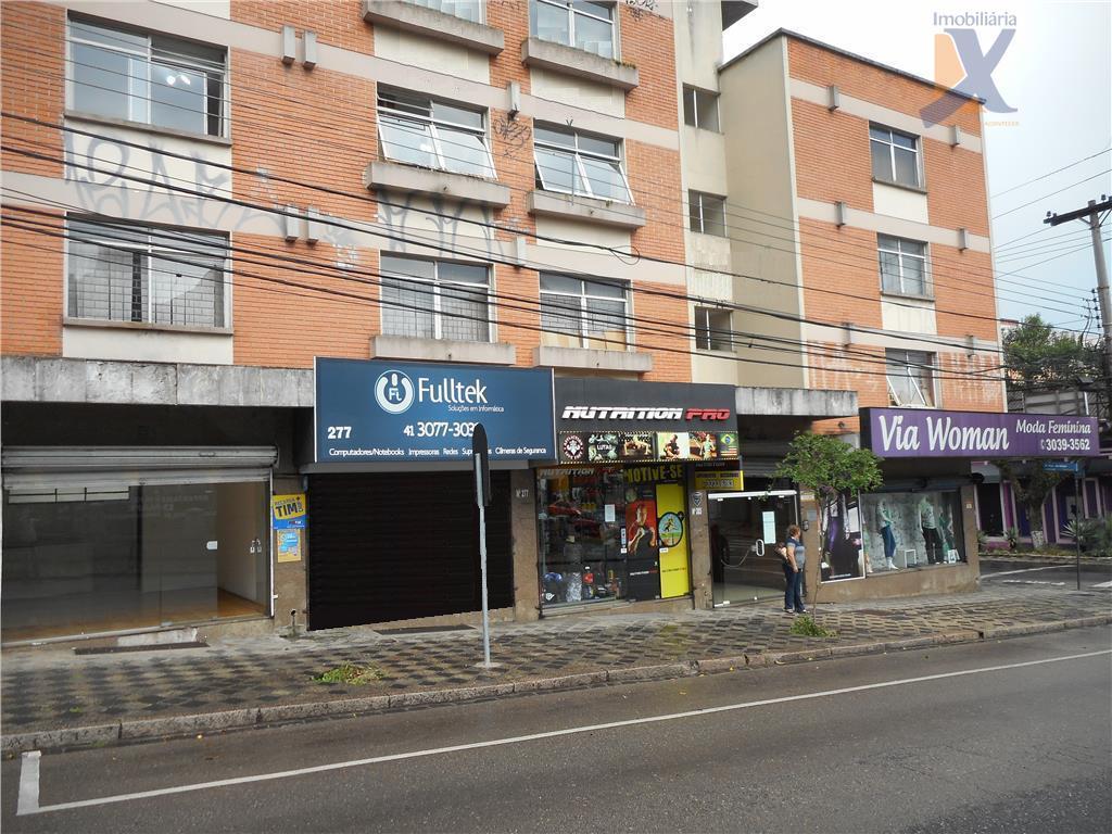 Loja comercial para locação, São Francisco, Curitiba.