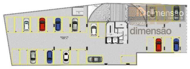 sala comercial nova com 35,22 m²de área privativa mais vaga de garagem com 11,5m². excelente investimento...