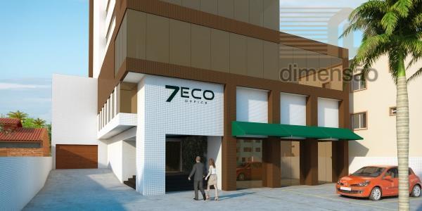 sala comercial nova com 35m²de área privativa e 1 vaga de garagem. excelente localização centro da...