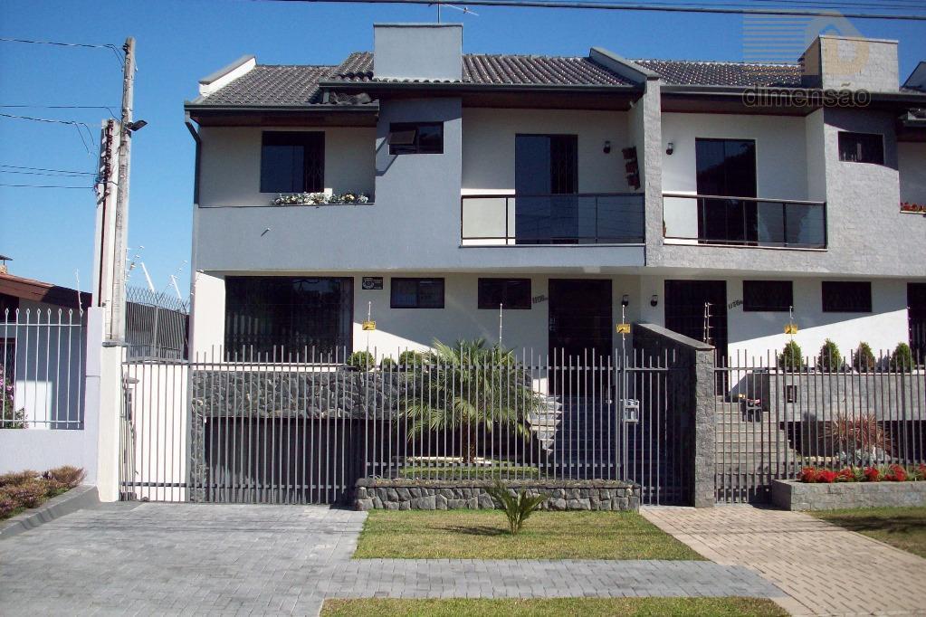 Sobrado residencial à venda, Água Verde, Curitiba.