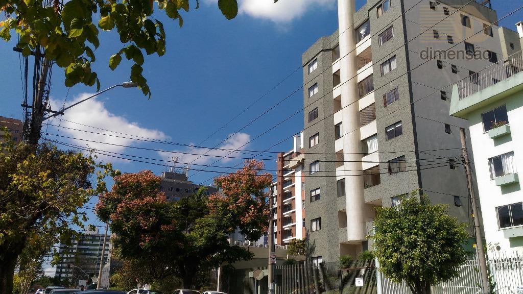 Apartamento residencial à venda, Vila Izabel, Curitiba - AP0044.