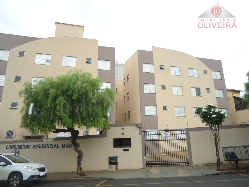 Apartamento com 2 dormitórios para alugar, 48 m² por R$ 650,00/mês - Mercês - Uberaba/MG