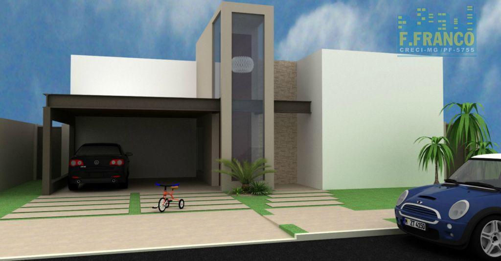Casa residencial à venda, Flamboyant Residencial Park, Uberaba.