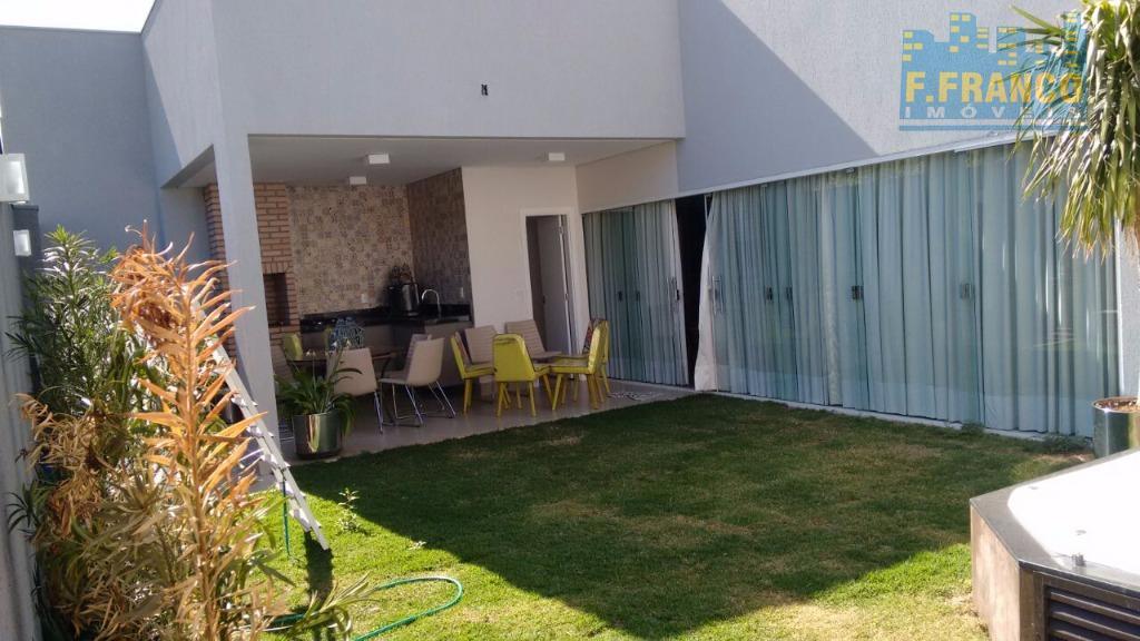 Casa residencial à venda, Residencial Budeus, Uberaba.