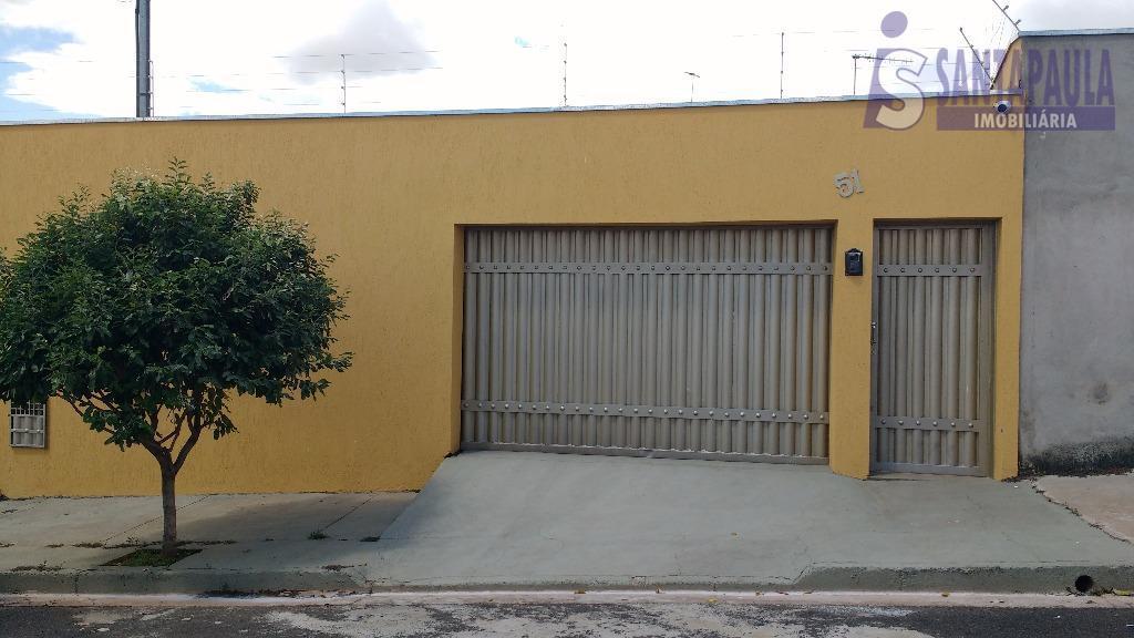 Casa residencial à venda, Residencial Presidente Tancredo Neves, Uberaba.