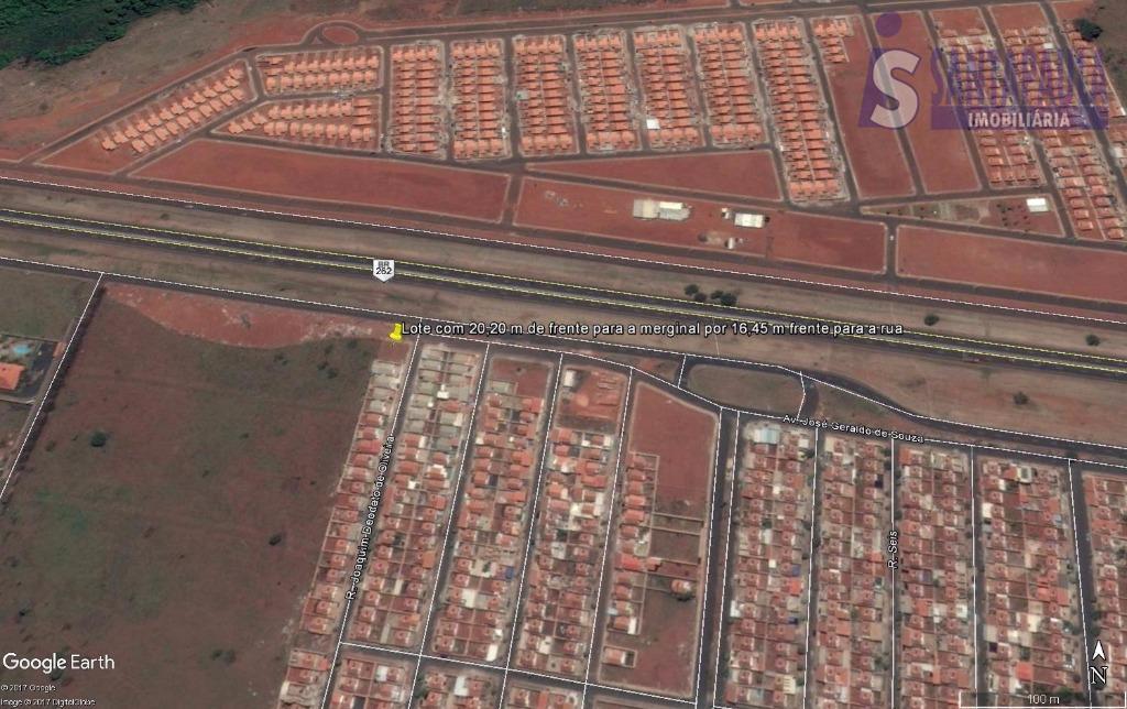 Terreno residencial à venda, Parque dos Girassóis, Uberaba.