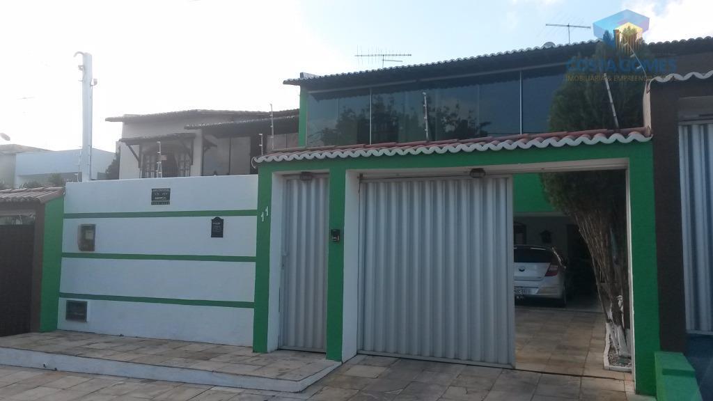 Casa Duplex, 3 suítes, 2 salas, 242m², Nova Parnamirim.