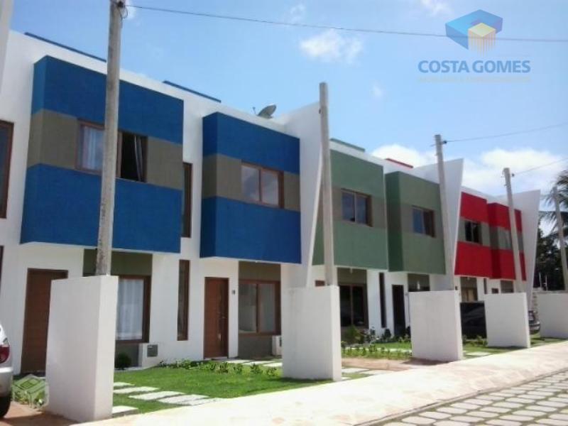 Casa Duplex 71m² 02 dormitórios Cond. Fechado, Planalto/RN