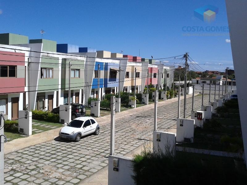 Casa Duplex 71m² 02 dormitórios Cond. Fechado, Planalto/RN.