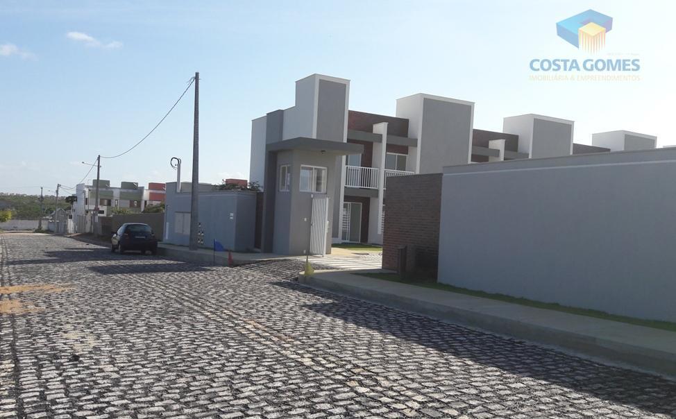 Casas Duplex, 02 dormitórios, Nova Parnamirim RN