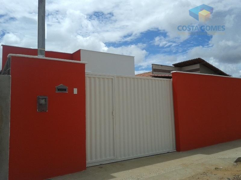 Casa 02 quartos no Bosque Brasil, Macaíba RN