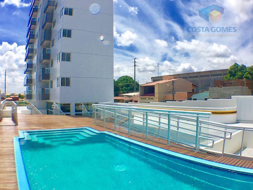 Apartamento com 02 dormitórios (01 suíte), Lagoa Nova, Natal RN