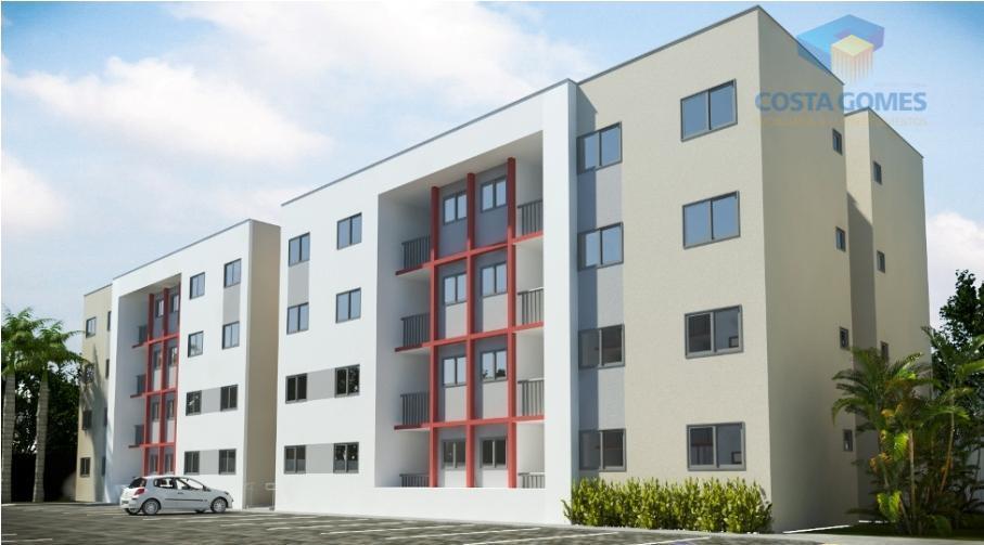 Apartamentos com 02 dormitórios no Planalto natal RN