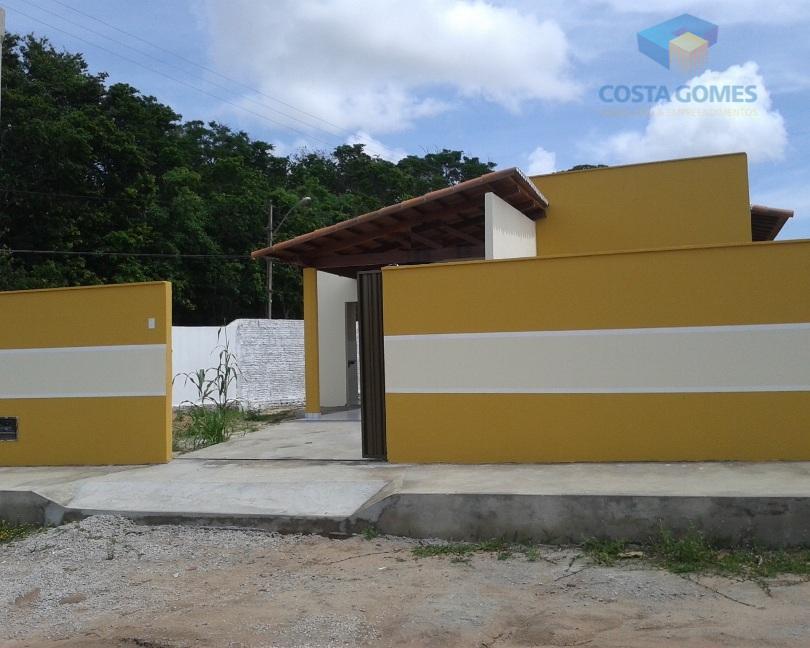 Casa com 02 quartos no loteamento Sonho Verde em Parnamirim RN