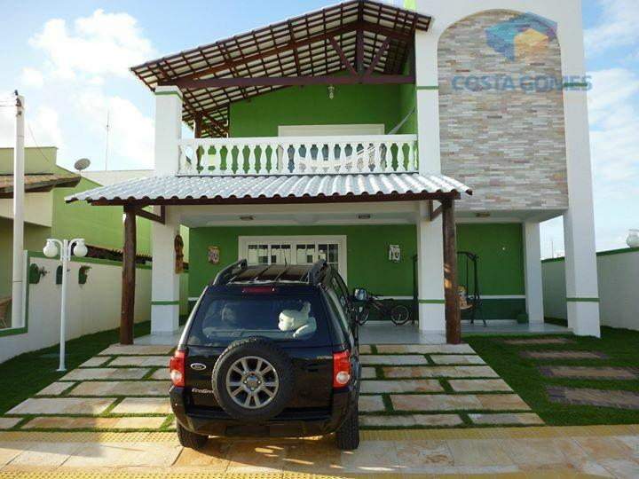 Casa Duplex com 03 quartos no Green Club I, Parnamirim RN
