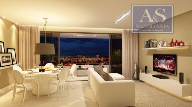 ótimo apartamento residencial no west palace mossoró., com 119,45m² de área privativa, 3 quartos sendo das...