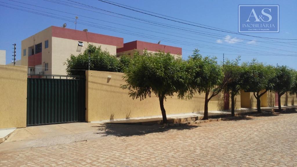 Apartamento com 2 dormitórios à venda, 55 m² por R$ 115.000 - Dix-Sept Rosado - Mossoró/RN