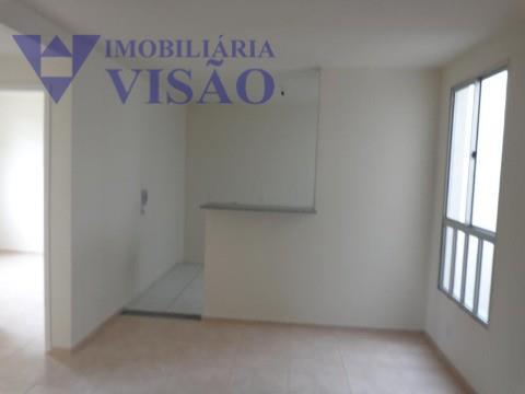 Apartamento Residencial para locação, Conjunto Manoel Mendes, Uberaba - AP1054.